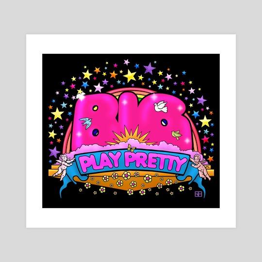 Big Play Pretty by Work of Art Studios
