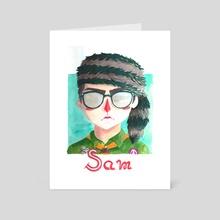 Sam - Art Card by Kelsey Adams
