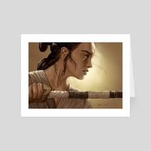 rey - Art Card by Miguel Blanco