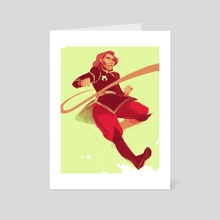 Lin Beifong #93 - Art Card by Harriet Moulton
