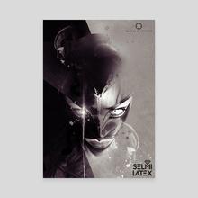 A latex selfie - Canvas by de thorianie Valerian