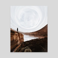 We are everywhere - Canvas by Nate Hill