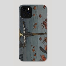 The sleepless guard - Phone Case by kalikantzaros
