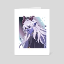 Aaravos - The Dragon Prince - Art Card by mingway