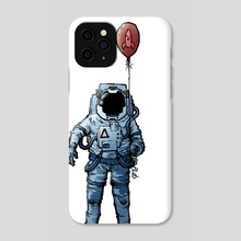 Space Walk - Phone Case by Michael Goodwin