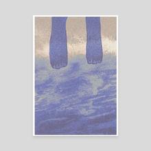 Blue Dream 03 - Canvas by Mi oi