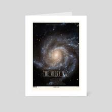The Milky Way - Art Card by Ryan Ripley