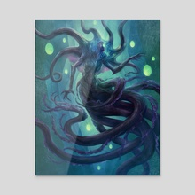Mother Hydra - Canvas by Jason Engle