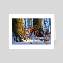Winter is coming - Art Card by Marvin Diehl