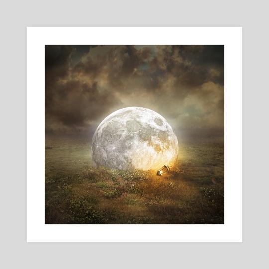 fallen moon by Even Liu
