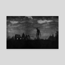 In The Night - Canvas by Trevin Wyant