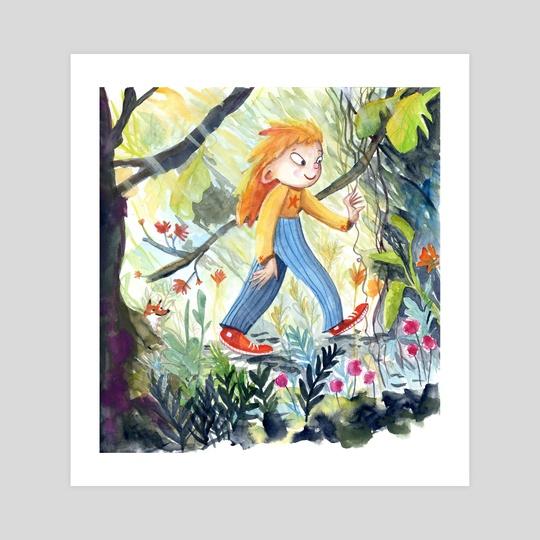 Girl Wander by Skylaar Amann