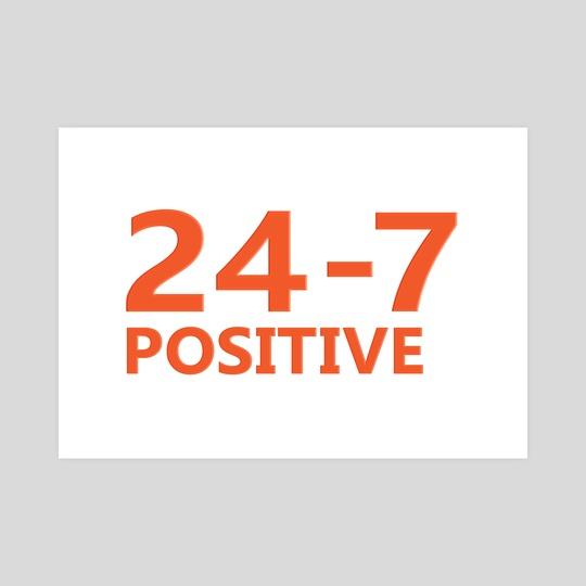 Positive Mindset Typography Concept Design by Daniel Ferreira Leites