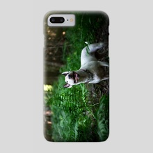 Jungle Bull Terrier - Phone Case by Kimberly AF