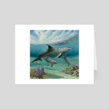 Reef Reflections - Art Card by Joyful Enriquez