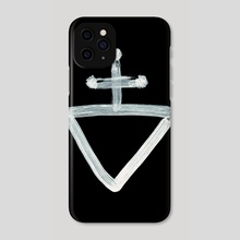 Alchemical Symbols - Iron Rust Inverted - Phone Case by Wetdryvac WDV