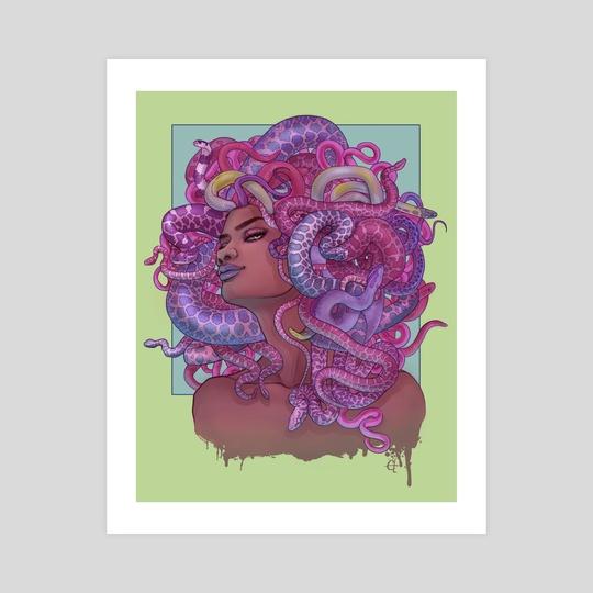 Medusa Candy Rainbow by Courtney Trowbridge