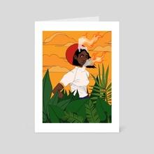 Feel It Still - Art Card by Rex