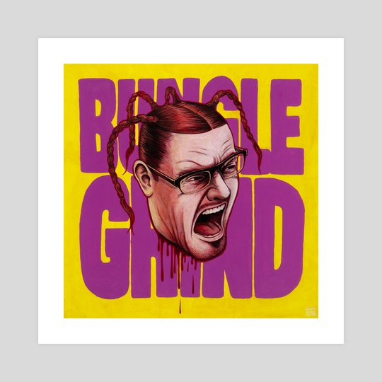 """Bungle Grind"" Mike Patton of Mr. Bungle by Son of Witz"