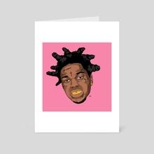 BLK - Art Card by Danny Walker