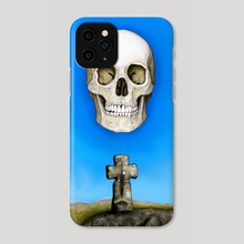 Skull and Goldsmith's Cross - Phone Case by Peter Andrew