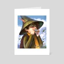 Snufkin - Art Card by Nadia Asserzon