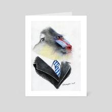 Mandrilla the Boss - Art Card by Krzysztof Wielkopolski