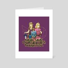 Tough Princesses - Art Card by Dooomcat