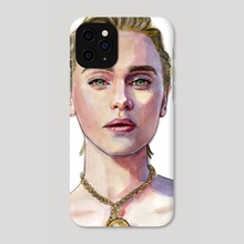 emilia clarke - Phone Case by Marta  Dasic
