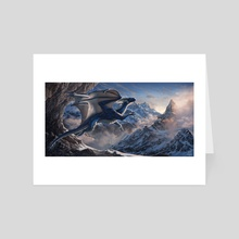 Into Thin Air - Art Card by Evan Bell