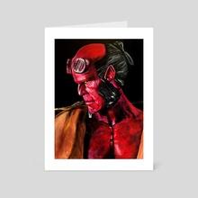 Hellboy Wrath - Art Card by Lindsay Platoshyn