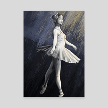 Dancing on the Line - Canvas by Hanah