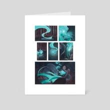 Mermaids - Art Card by Leah Artwick