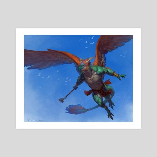 Smaugust2020: Quetzalcoatl  by Taran Fiddler