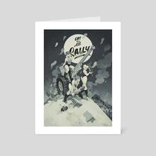 Eat them all Sally - Art Card by MinJung Kang