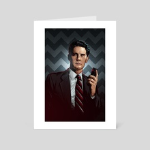 Twin Peaks - Art Card by Nikita Abakumov
