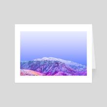 Magic Mountain - Art Card by Alex Tonetti