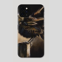 baby bird - Phone Case by Kendall Stump
