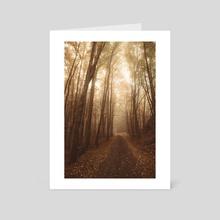 Autumn mood - Art Card by Tomáš Hudolin