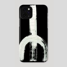 Medieval Runes 027 Y Inverted - Phone Case by Wetdryvac WDV