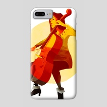 Cello - Phone Case by Kristian Duffy