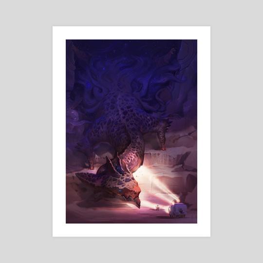 The Astral Dragon  by Alex Konstad