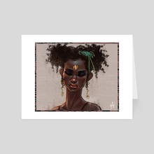 Pretty Lady (Nothing New Under The Sun) - Art Card by Afenyi Arhin