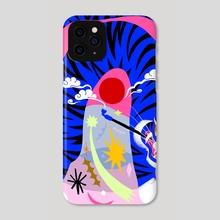 Tiger Smoke - Phone Case by Subin Yang