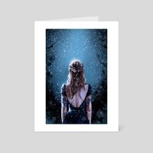 Queen - Art Card by Rio Burton