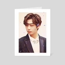 Flower Hyungwon - Art Card by Amanda M.