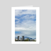 Tiny Skyscrapers I. - Art Card by Parag Phadnis