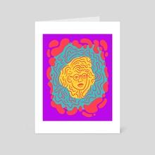 Rippled Two - Art Card by Matt Schroeter