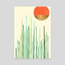 Desert Undersea - Canvas by Modern Tropical