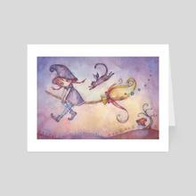 Magicnight - Art Card by Juri Ueda